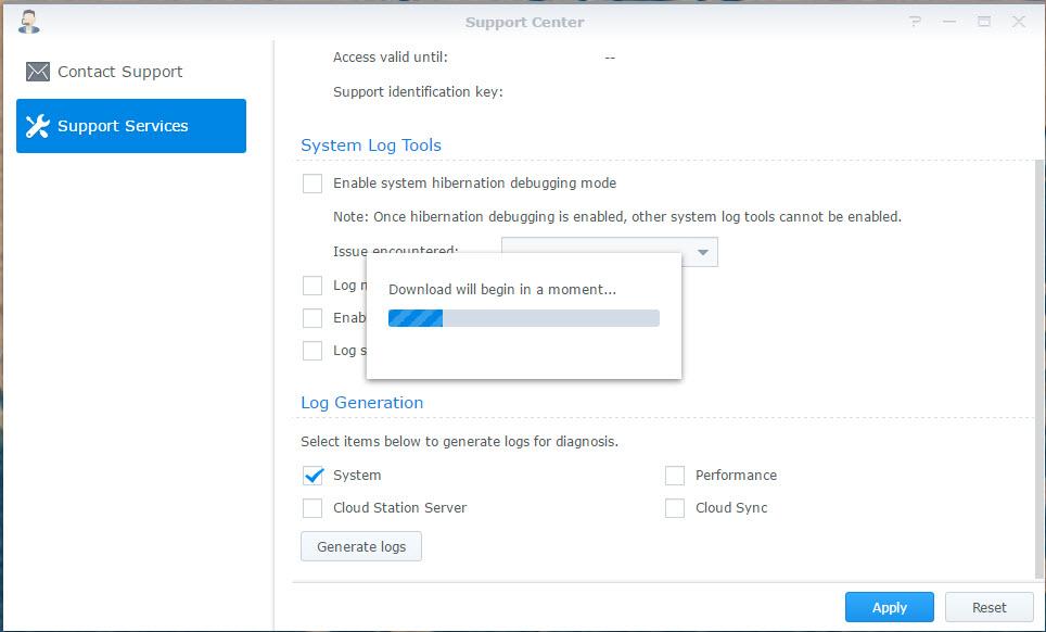 Export Synology NAS system logs - Jérémy Verda's IT Blog