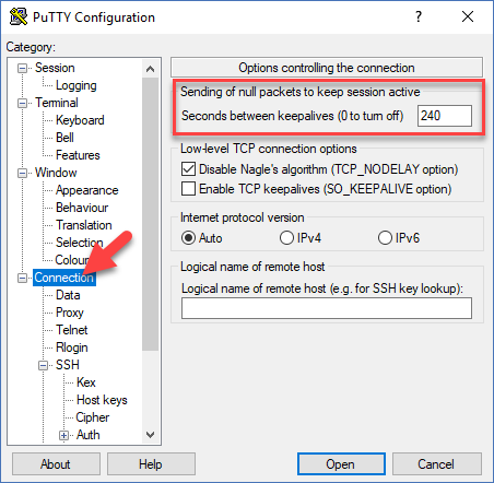 Network Error: Connection Reset By Peer'